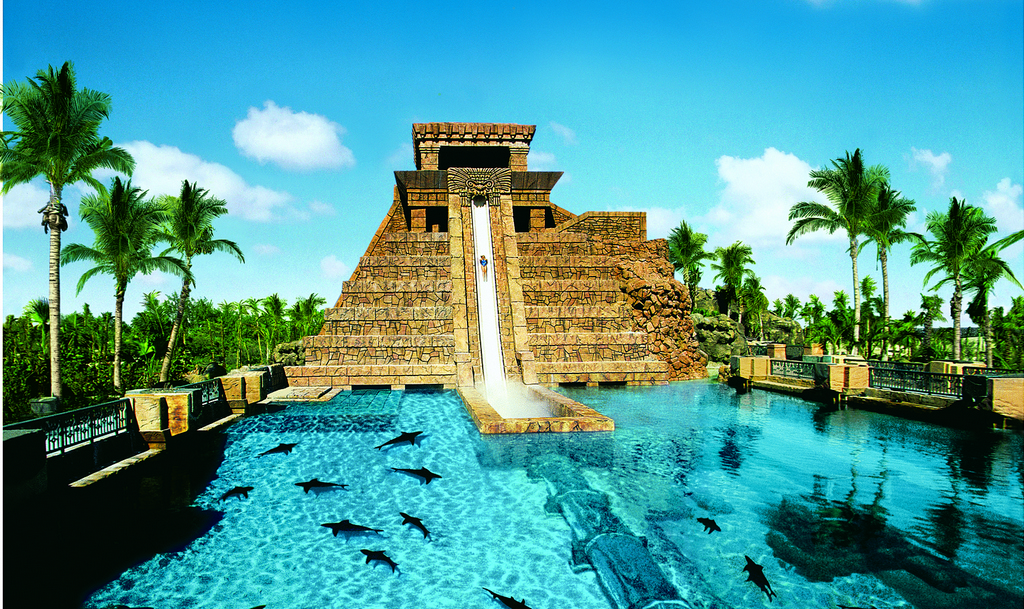 Atlantis paradise island modern vacations for Atlantis piscine