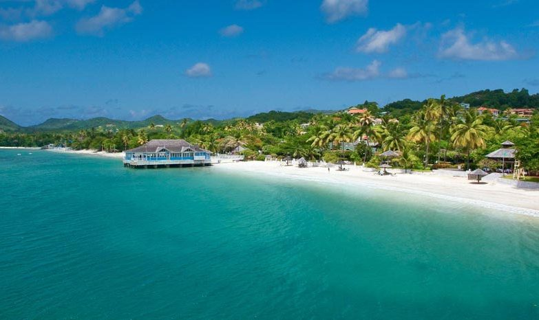 Sandals Halcyon Beach St Lucia Modern Vacations