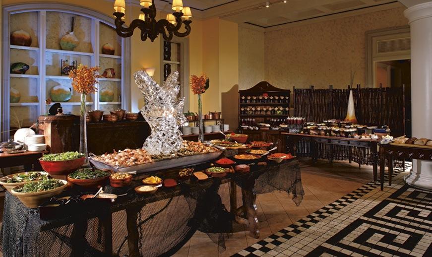 Ritz Carlton San Juan Mares Restaurant Buffet