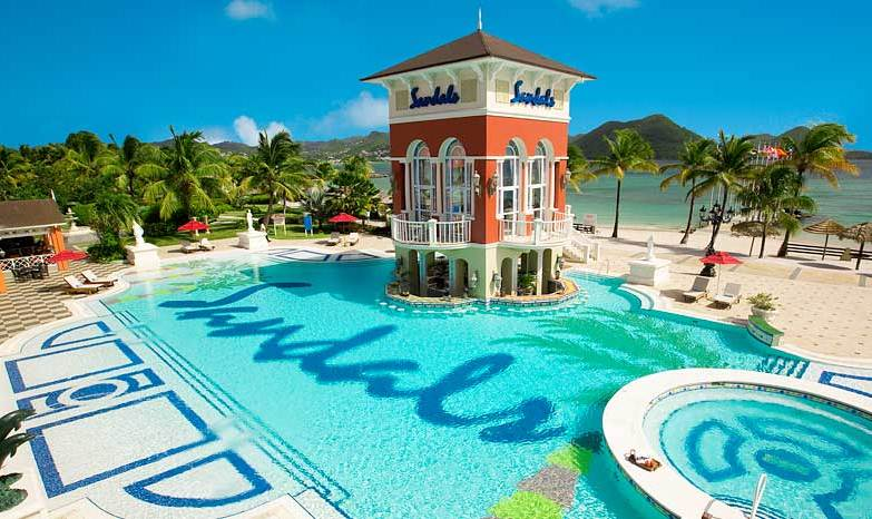 b6741853a260 Sandals Grande St. Lucian - Modern Vacations